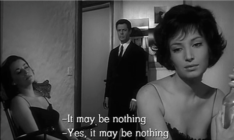 screenshot from La Notte